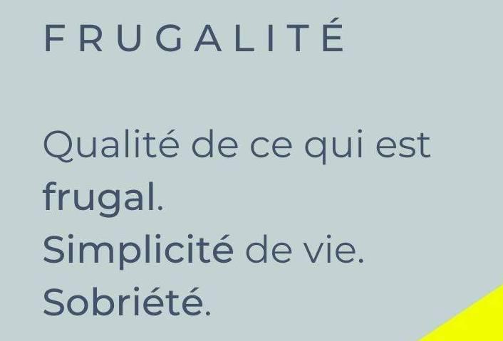 frugalité newagatt