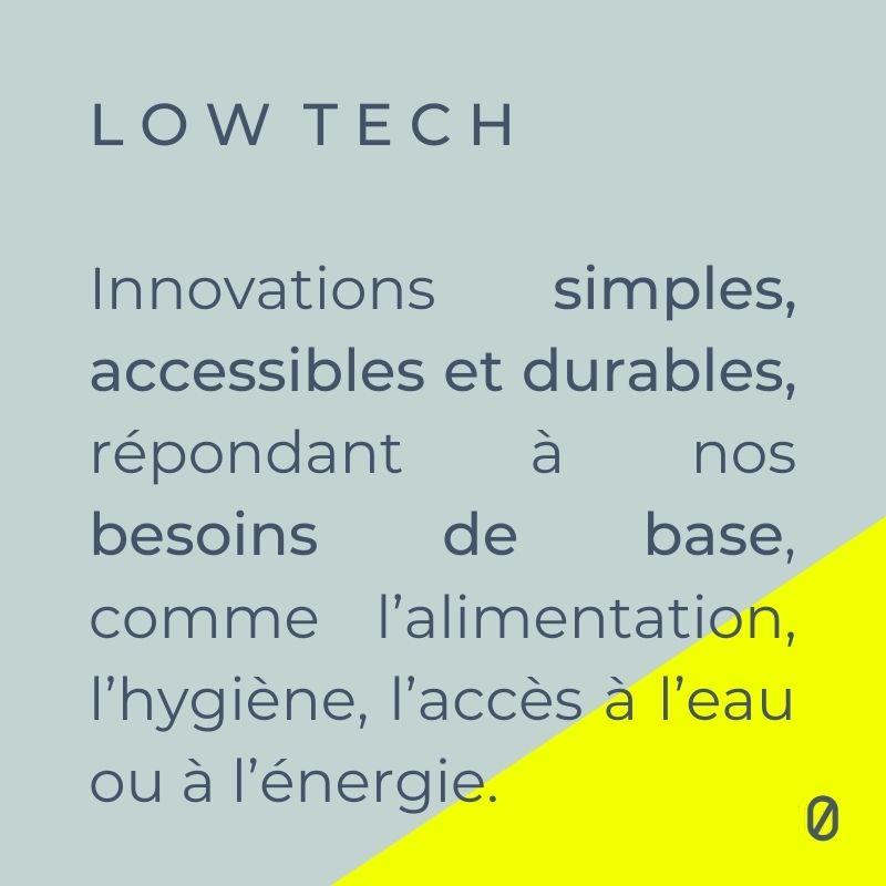 low tech