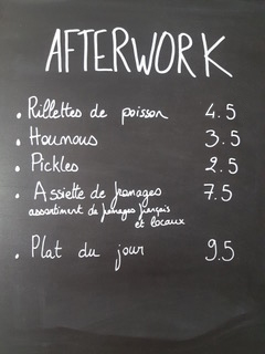 Afterwork Lorient Code Ø